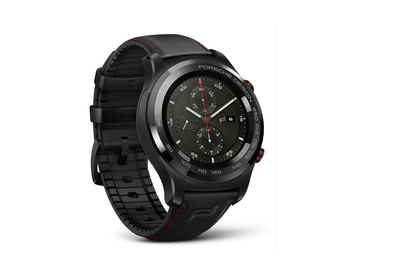 The Porsche Design Huawei Watch is a beautiful, useless device
