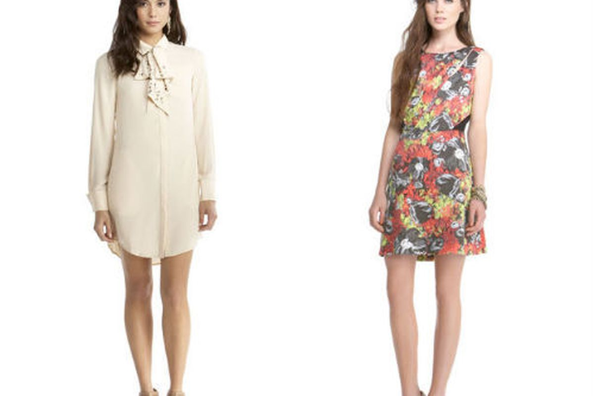 """""""The Barbara Dress"""" and """"The Nina Dress"""", each for $44.25 (were $129), at Rachel Roy"""