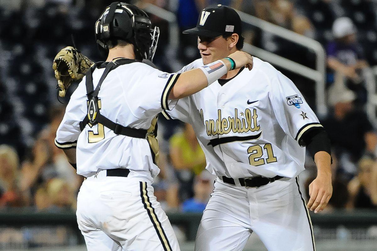 NCAA Baseball: College World Series-TCU vs Vanderbilt