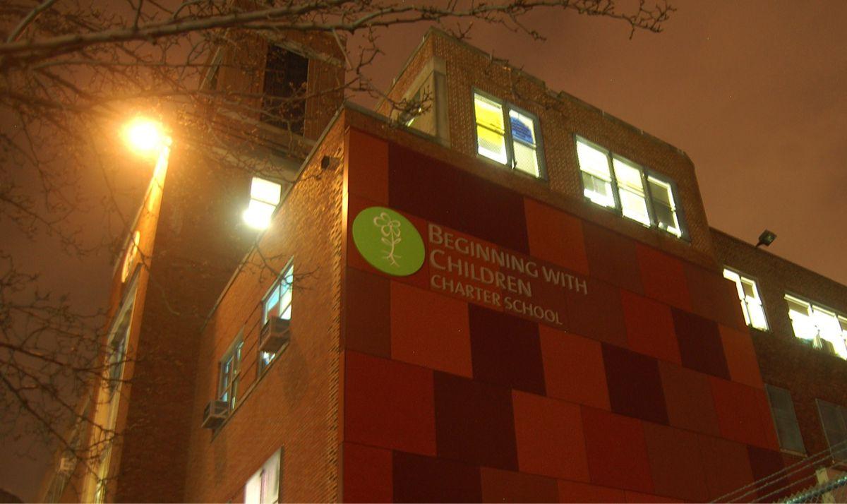 11 Bartlett Street, home of Beginning with Children Charter School's elementary school grades.