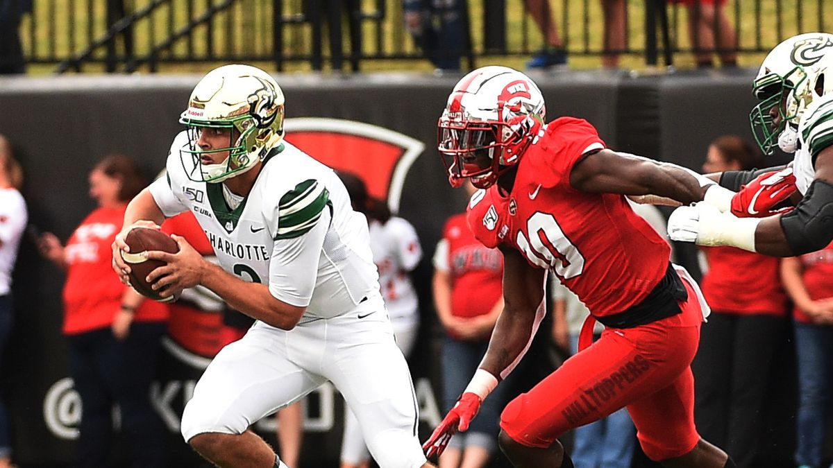 COLLEGE FOOTBALL: OCT 19 Charlotte at Western Kentucky