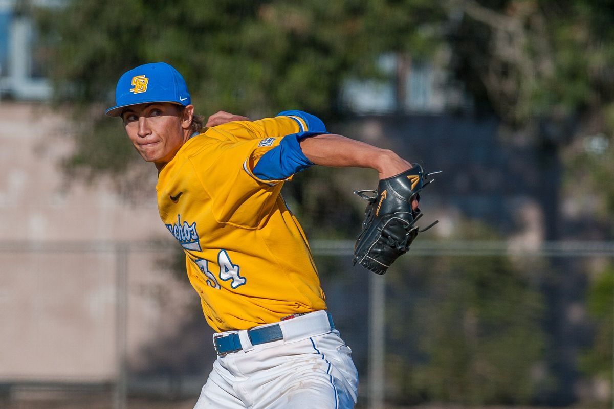James Carter's UCSB Gauchos are one win away from the College World Series.