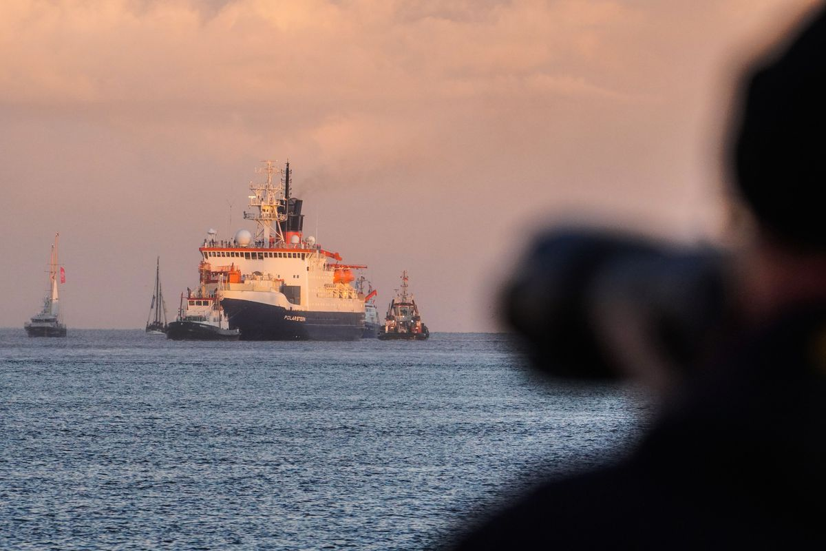GERMANY-SCIENCE-ARCTIC-CLIMATE-POLARSTERN