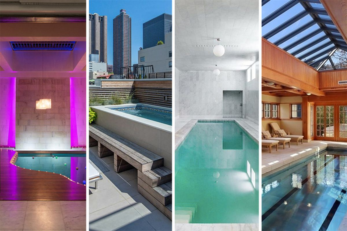 The 10 Hottest New York City Homes With Private Pools Curbed Ny