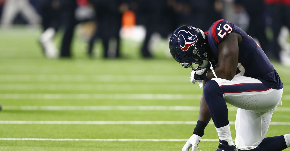 Whitney Mercilus Nominated For Walter Payton NFL Man Of The Year Award