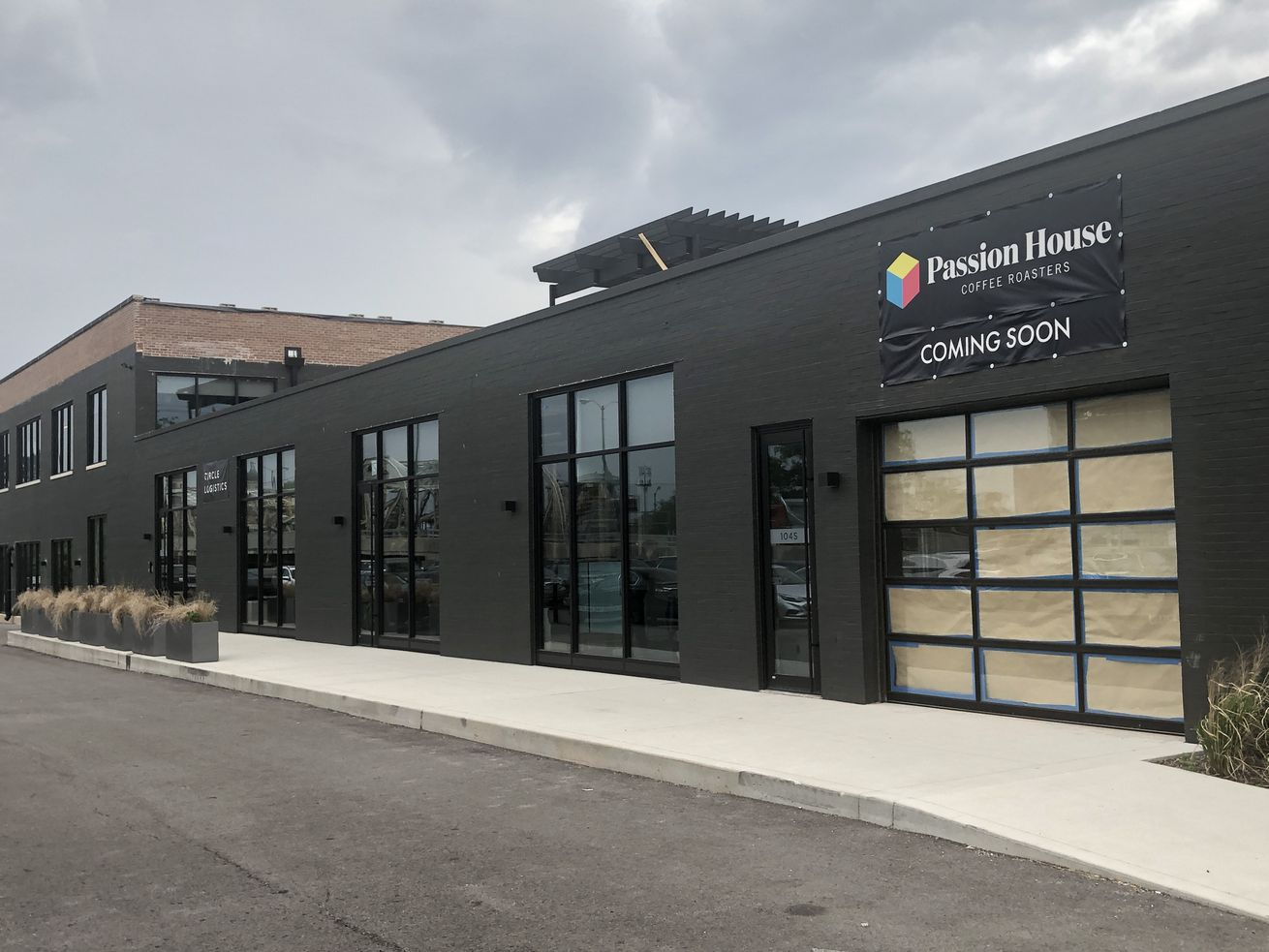 The future home of Passion House's Goose Island cafe.
