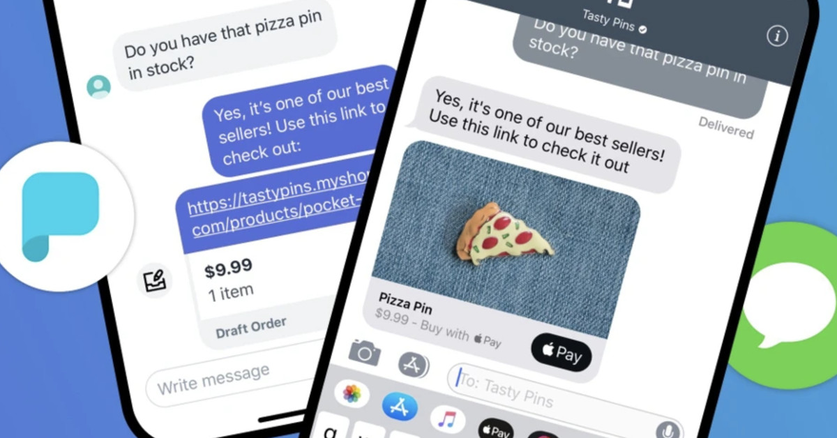 Apple expands iMessage Business Chat to Shopify online