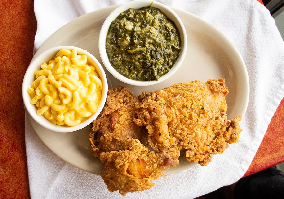 Southern dishes from Hoover's Cooking
