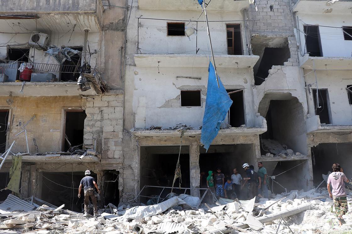 Building in Aleppo