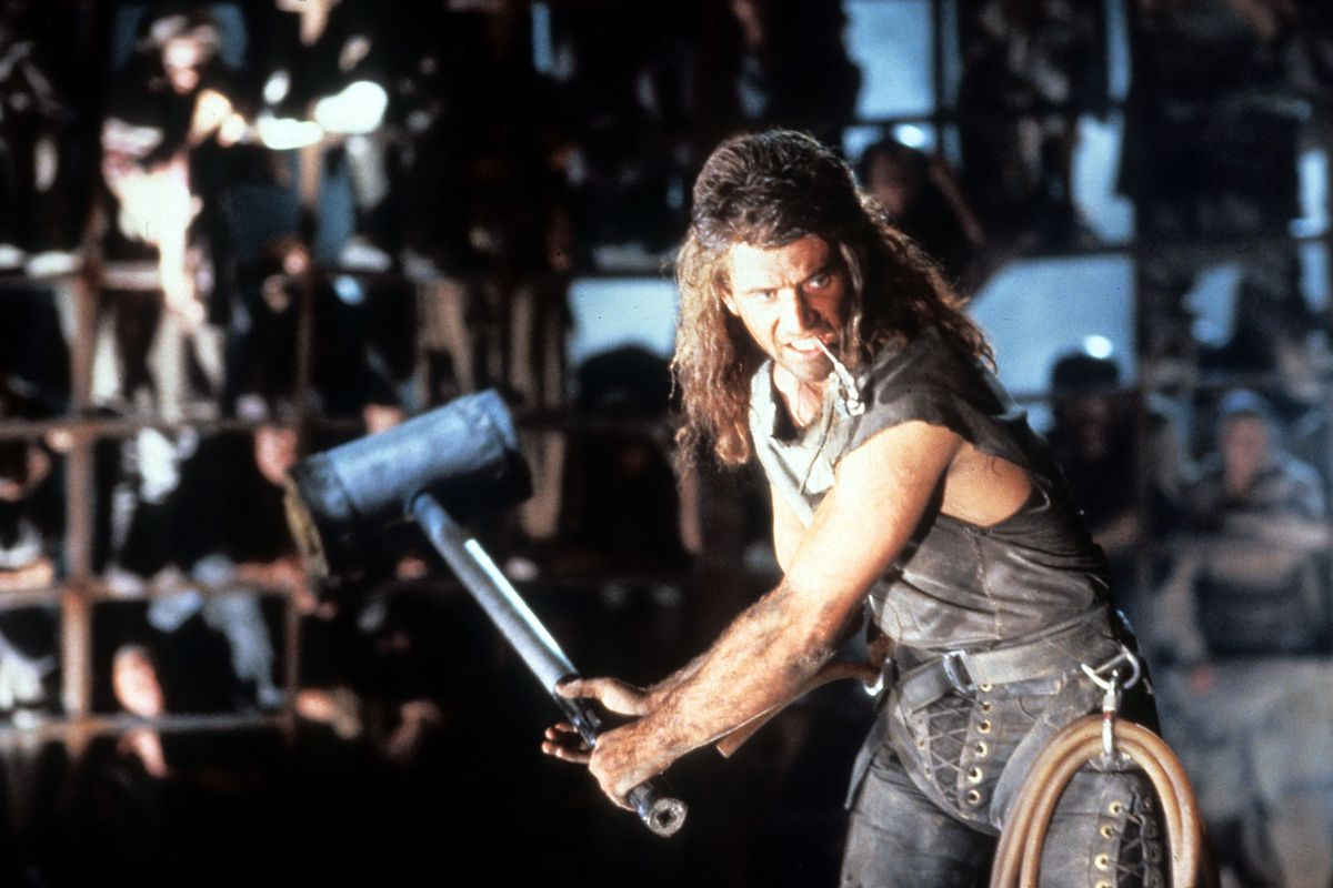 Mel Gibson In 'Mad Max Beyond Thunderdome'