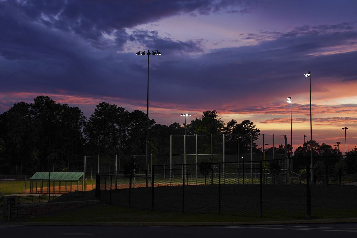 SNELLVILLE, GA - JUNE 21- A baseball field is seen at South Gwi