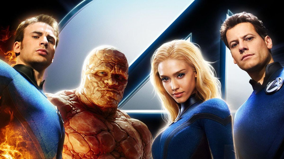 the cast of the 2005 fantastic four