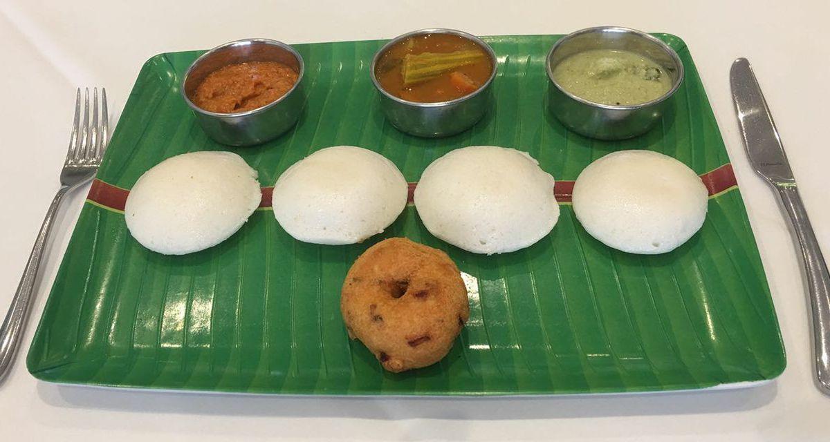 Rice and sambal at Gana in Harrow, one of the best Sri Lankan restaurants in London