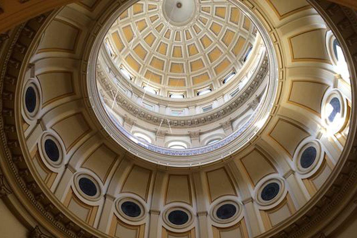 Inside of Colorado capitol dome