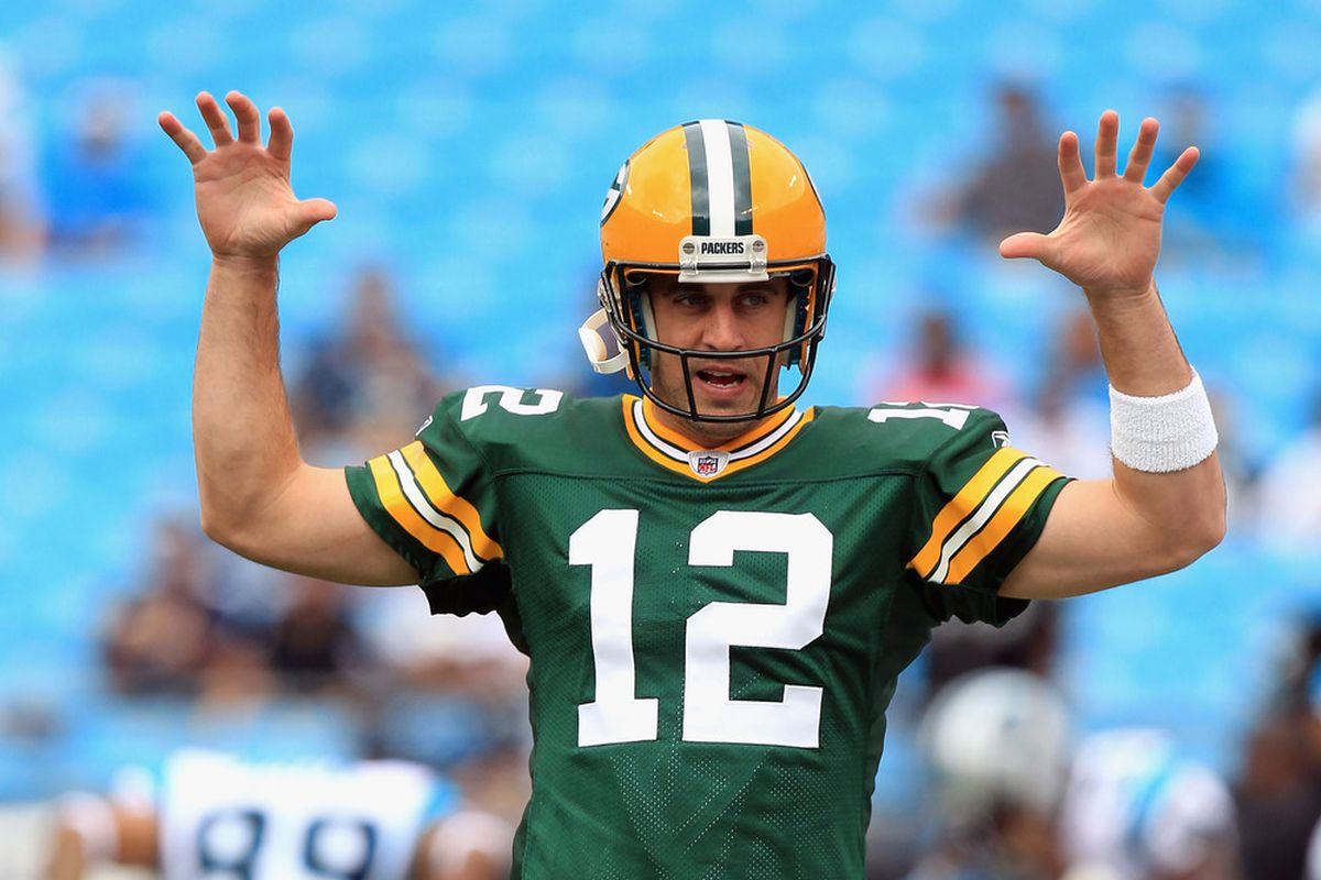 Aaron Rodgers is a fantasy monster.