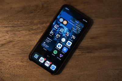 You can place widgets on the home screen in iOS 14
