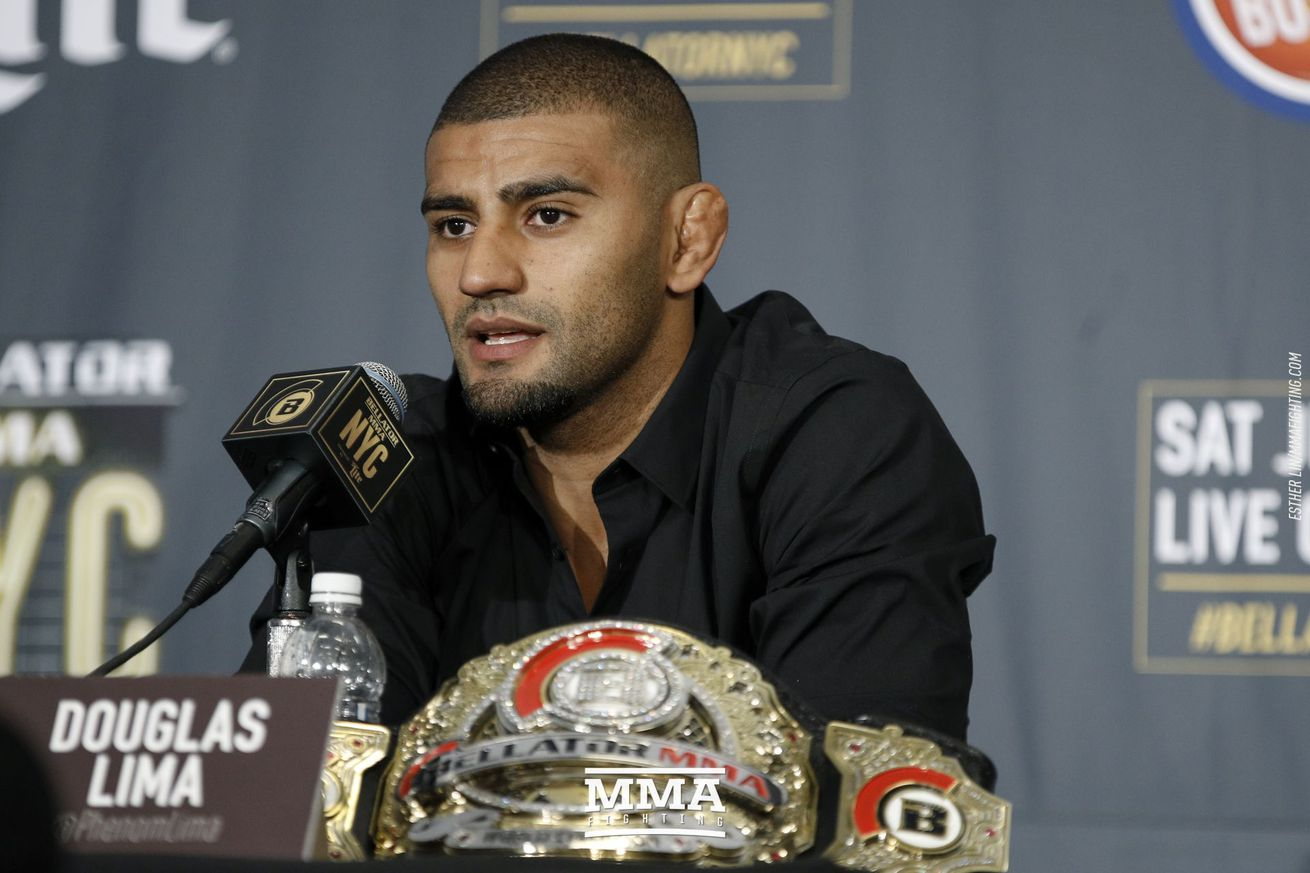 community news, Bellator stalwart Douglas Lima liking the infusion of free agents, happy to have more eyes on him