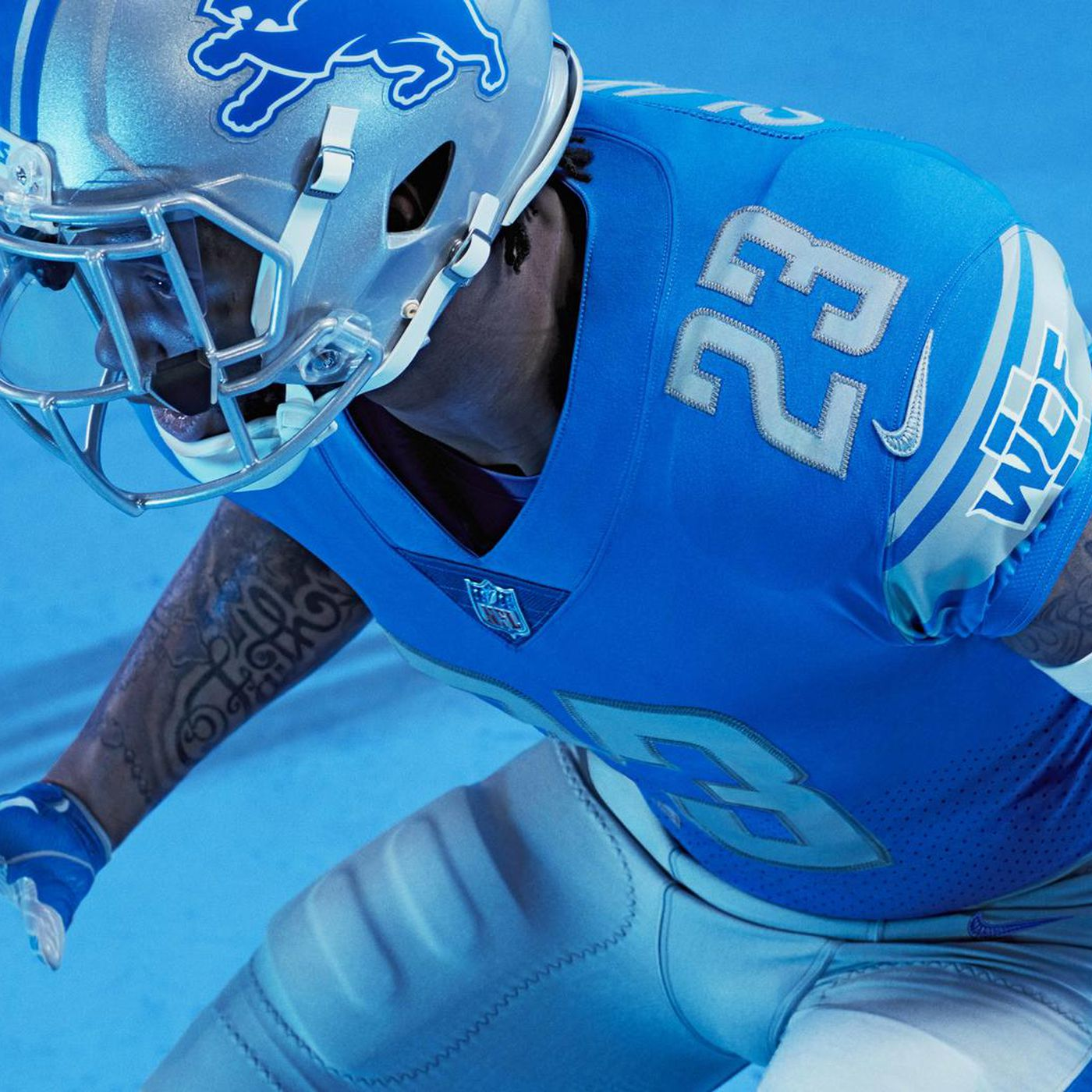 the best attitude 92e6f 89277 Lions' new uniforms look awfully similar to their old ones ...