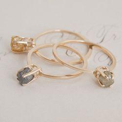 Rough Diamond Ring, $595
