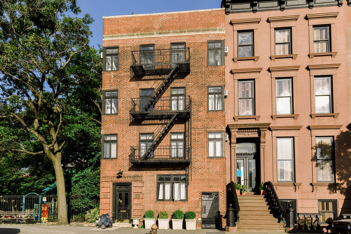 A brownstone apartment in Brooklyn.