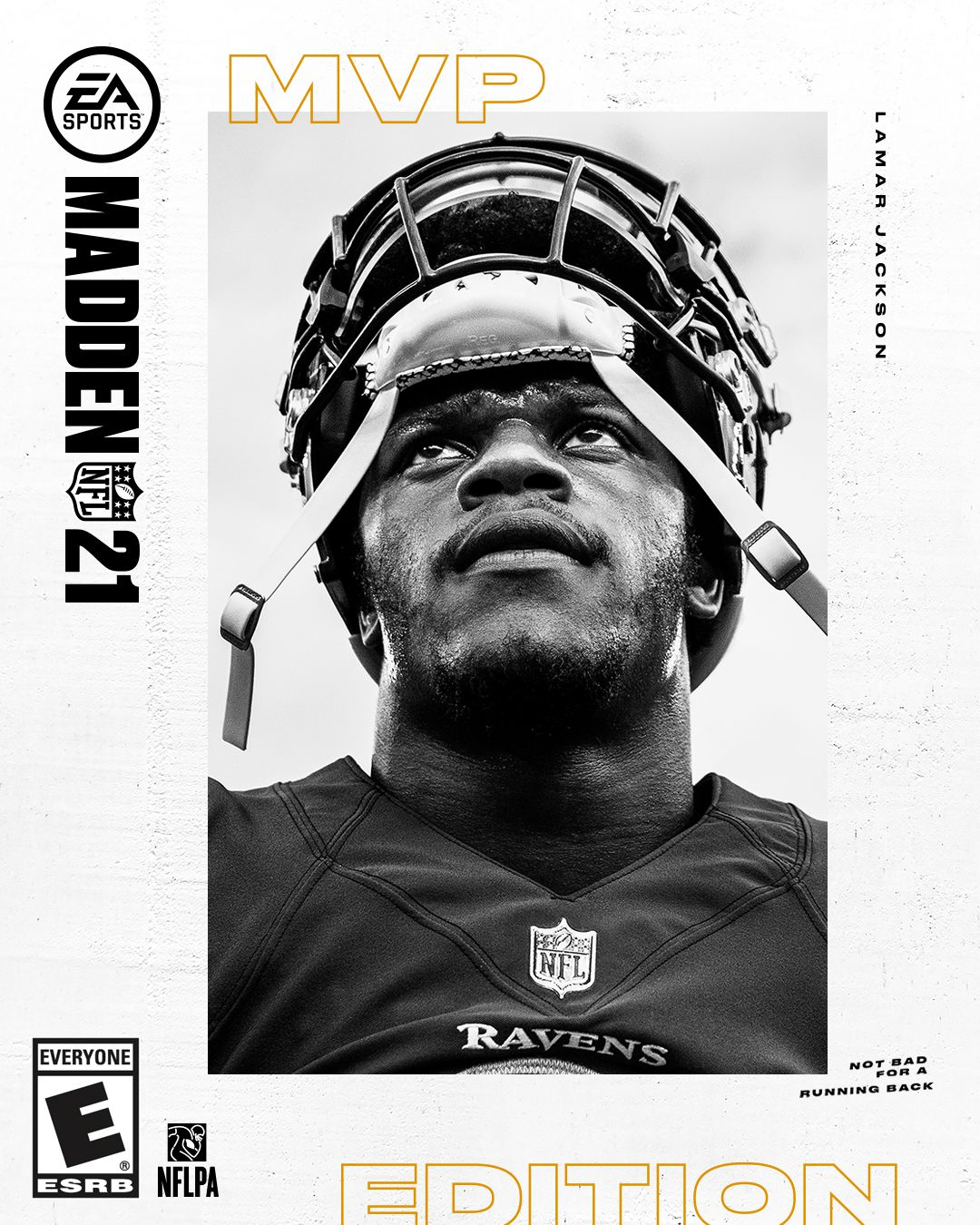 cover art for the MVP Edition of Madden NFL 21