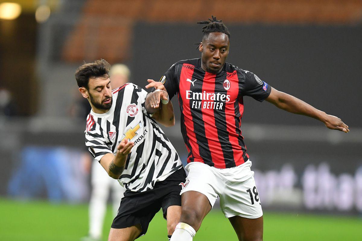 ITALY-MILAN-FOOTBALL-UEFA EUROPA LEAGUE-AC MILAN VS MANCHESTER UNITED