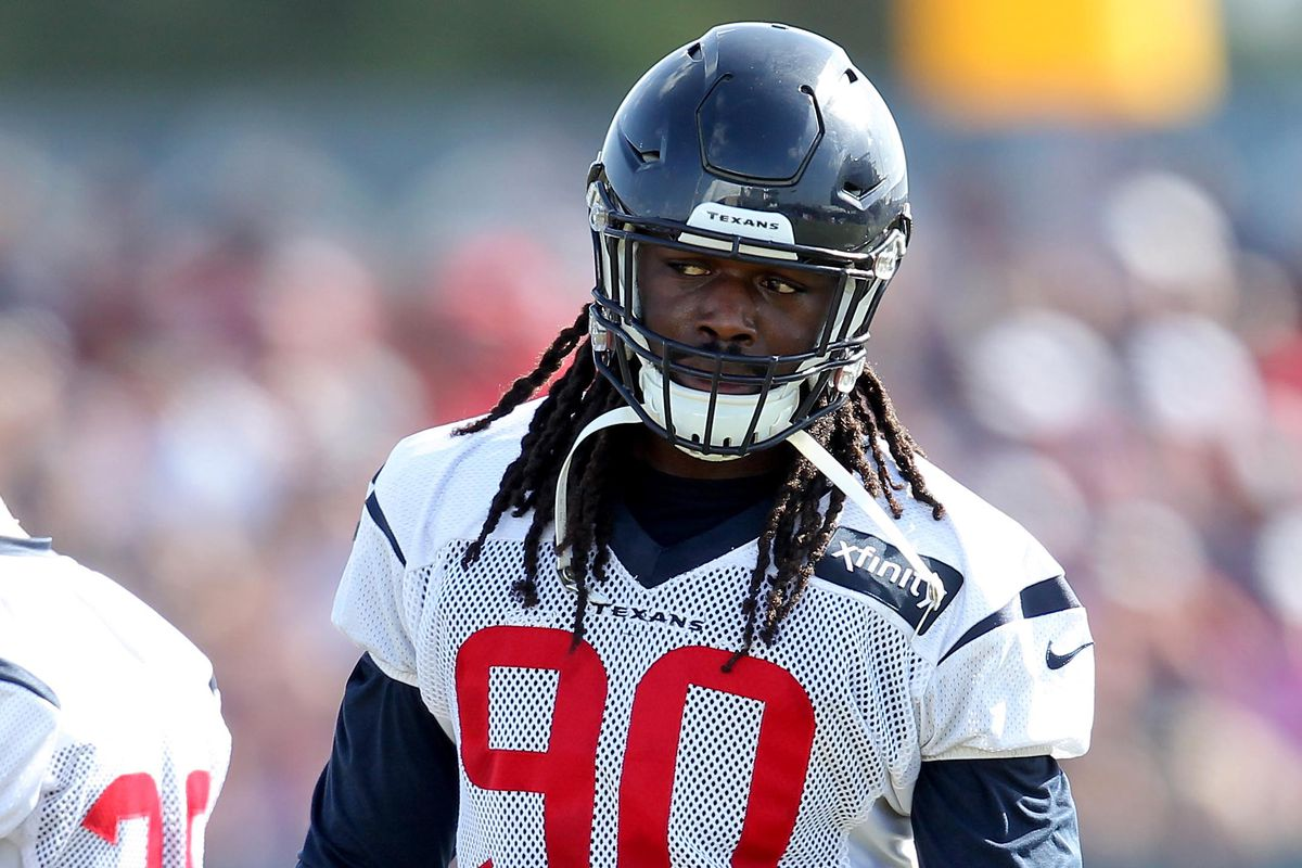 Jadeveon Clowney will not be seen at this time so that we may bring you the following Texans game.