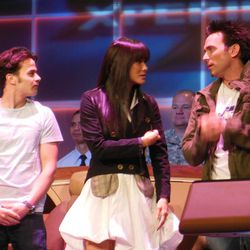 (From left) Daniel Logan, Kelly Hu and Jason David Frank were in attendance for a press conference that kicked off Salt Lake Comic Con FanXperience on Thursday morning.