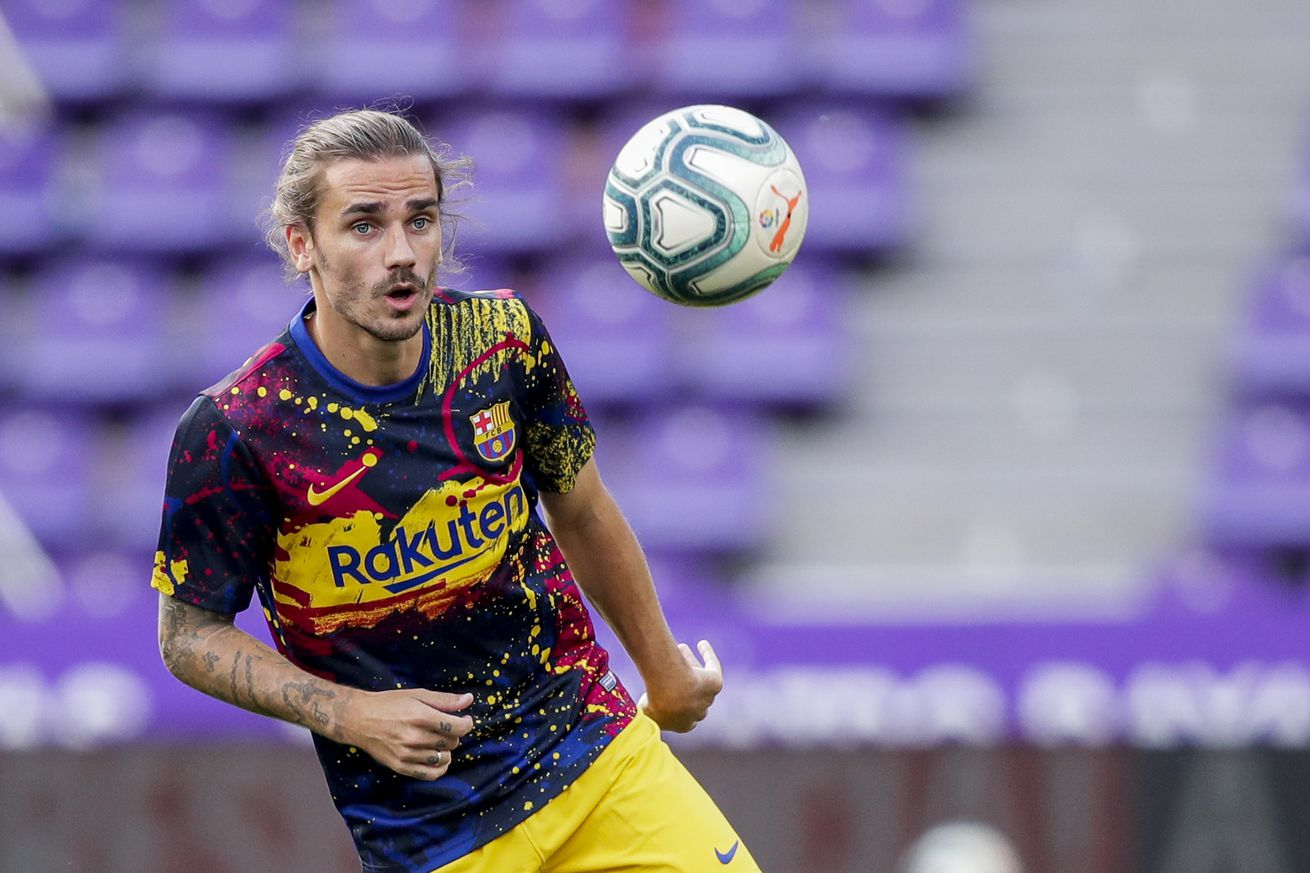 Griezmann expected to be out for three weeks