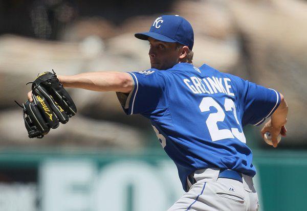 Zack Greinke winds up