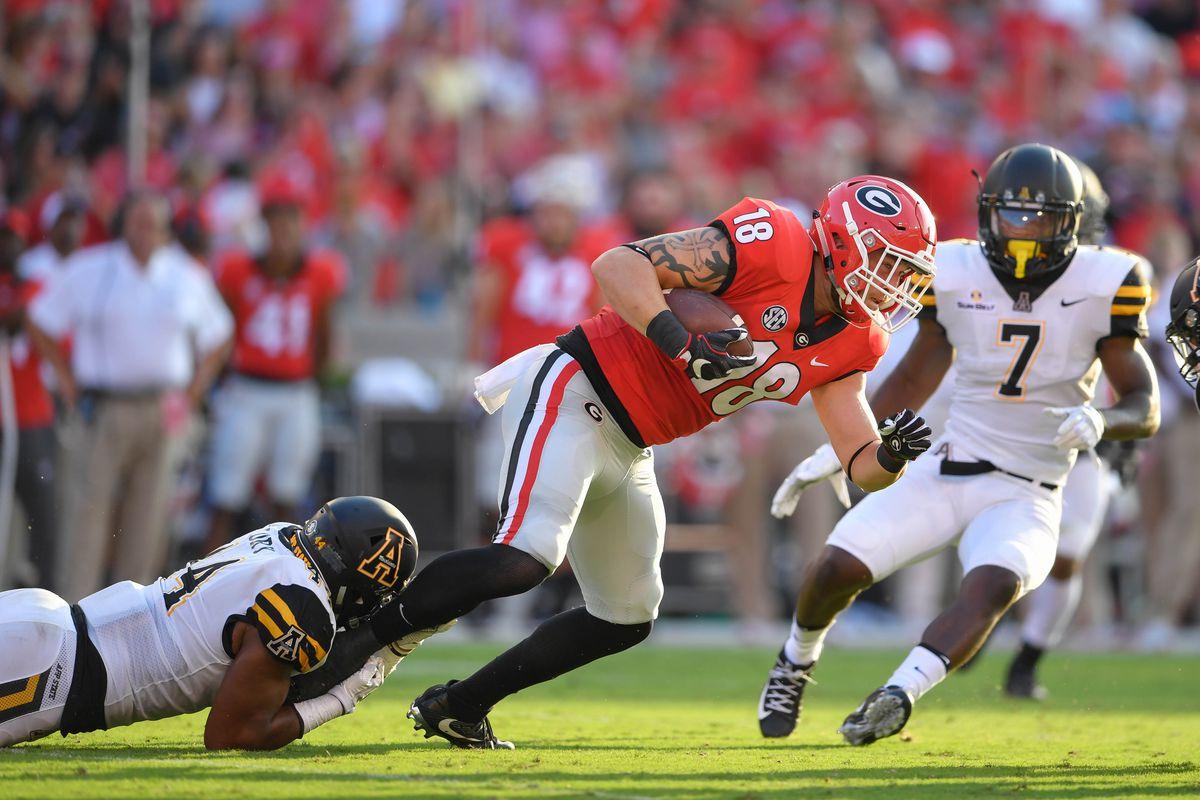 NCAA Football: Appalachian State at Georgia