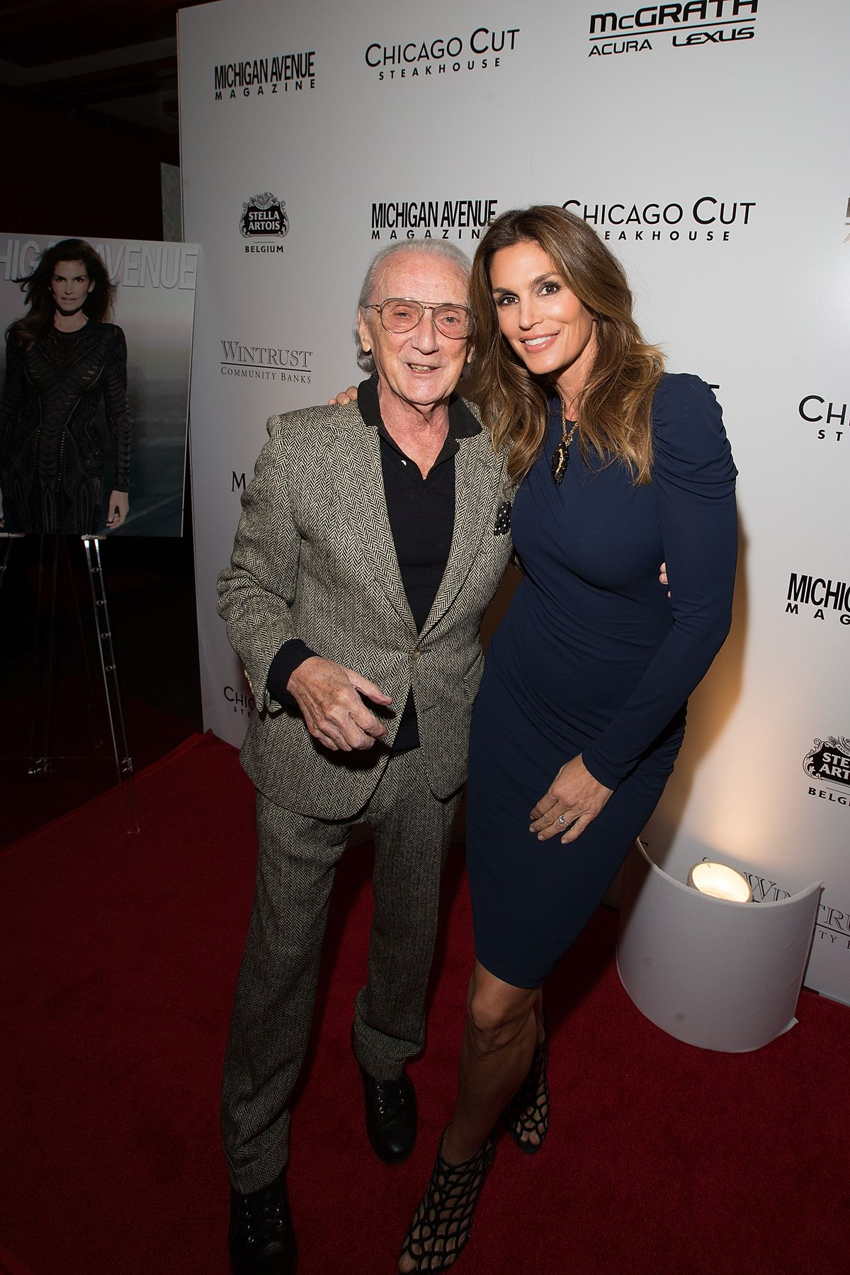 Michigan Avenue Magazine's November Issue Release Celebration With Cindy Crawford