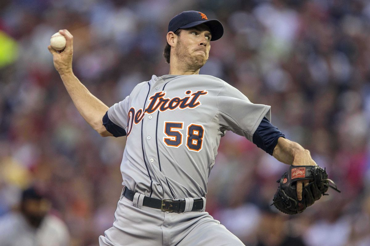 Doug Fister takes the mound for the Tigers in Cleveland