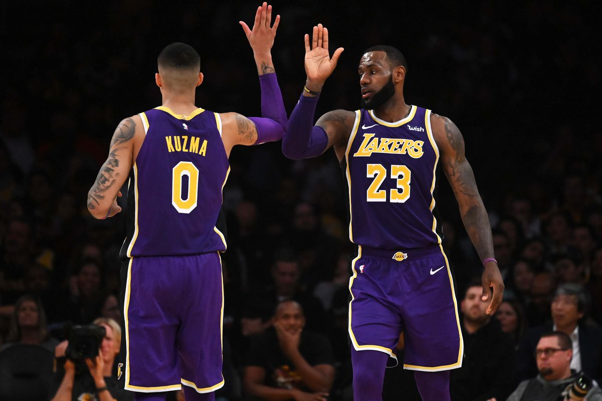 sports shoes aa2b8 08055 LeBron James, Kyle Kuzma headline NBA All-Star weekend for ...