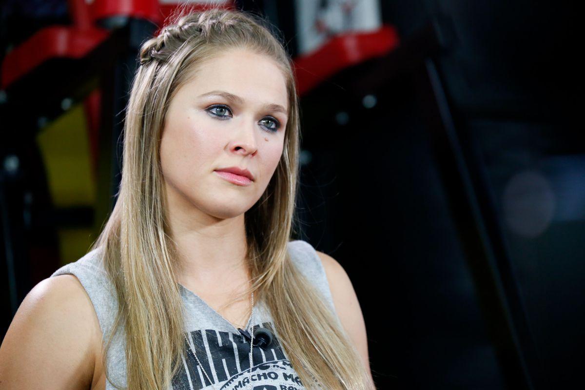 Ronda Rousey media day photos