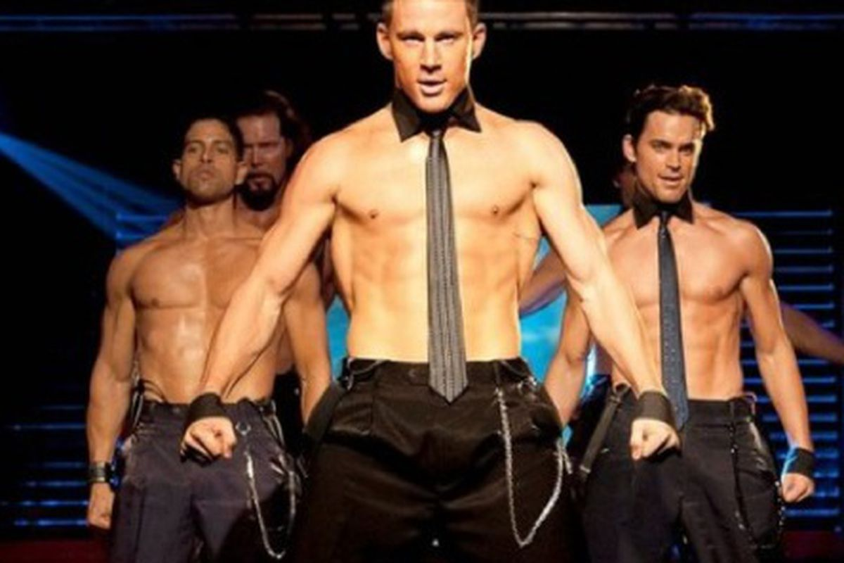 """No ones looking at the tie. Happy Friday. Image via <a href=""""http://www.salon.com/topic/magic_mike/"""">Salon</a>"""