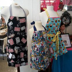 Edgy aprons by Domestic Doll
