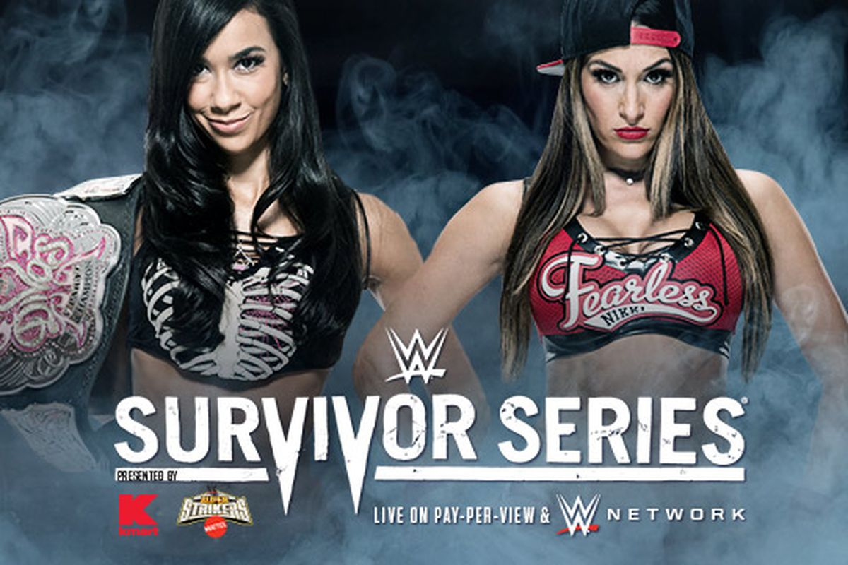 WWE Survivor Series 2014: AJ Lee vs. Nikki Bella Divas ...