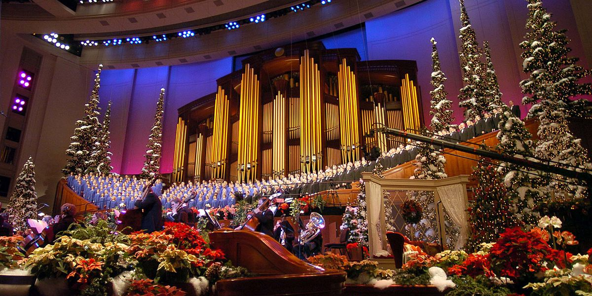 When Did The Mormons Have Their 2020 Concert Christmas Tabernacle Choir Christmas concert, other 2020 performances