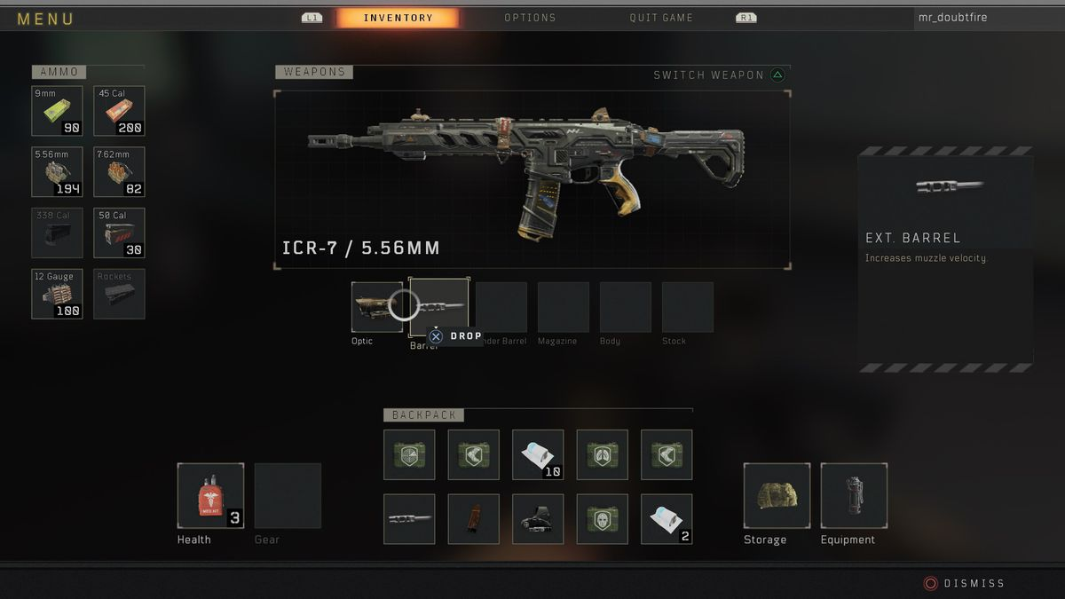 Call of Duty: Black Ops 4 Blackout weapons and items guide