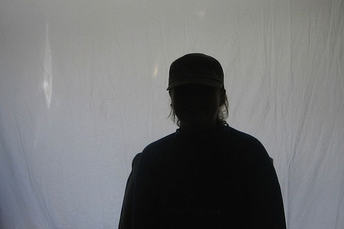 """Silhouetted against the screen by <a href=""""http://www.flickr.com/photos/ninefish/"""" target=""""new"""">ninefish</a>"""