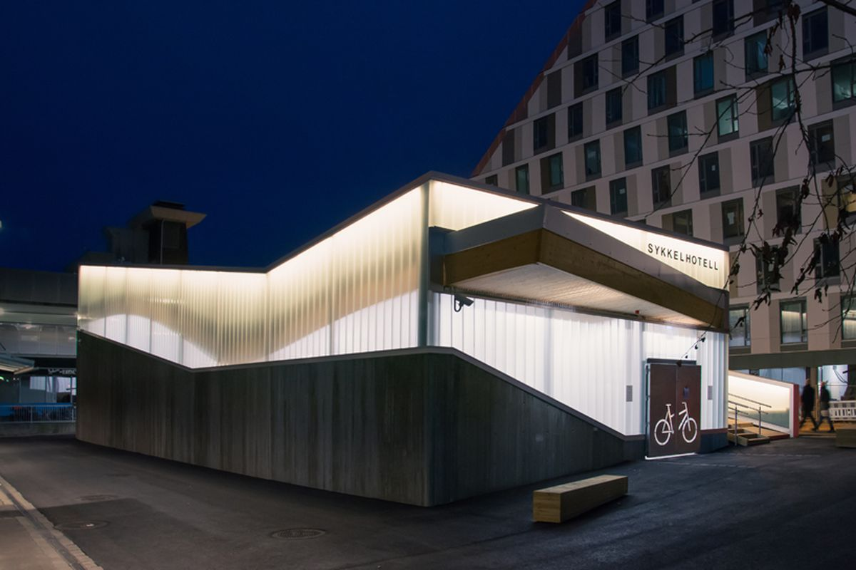 """new """"bicycle hotel"""" in Norway"""
