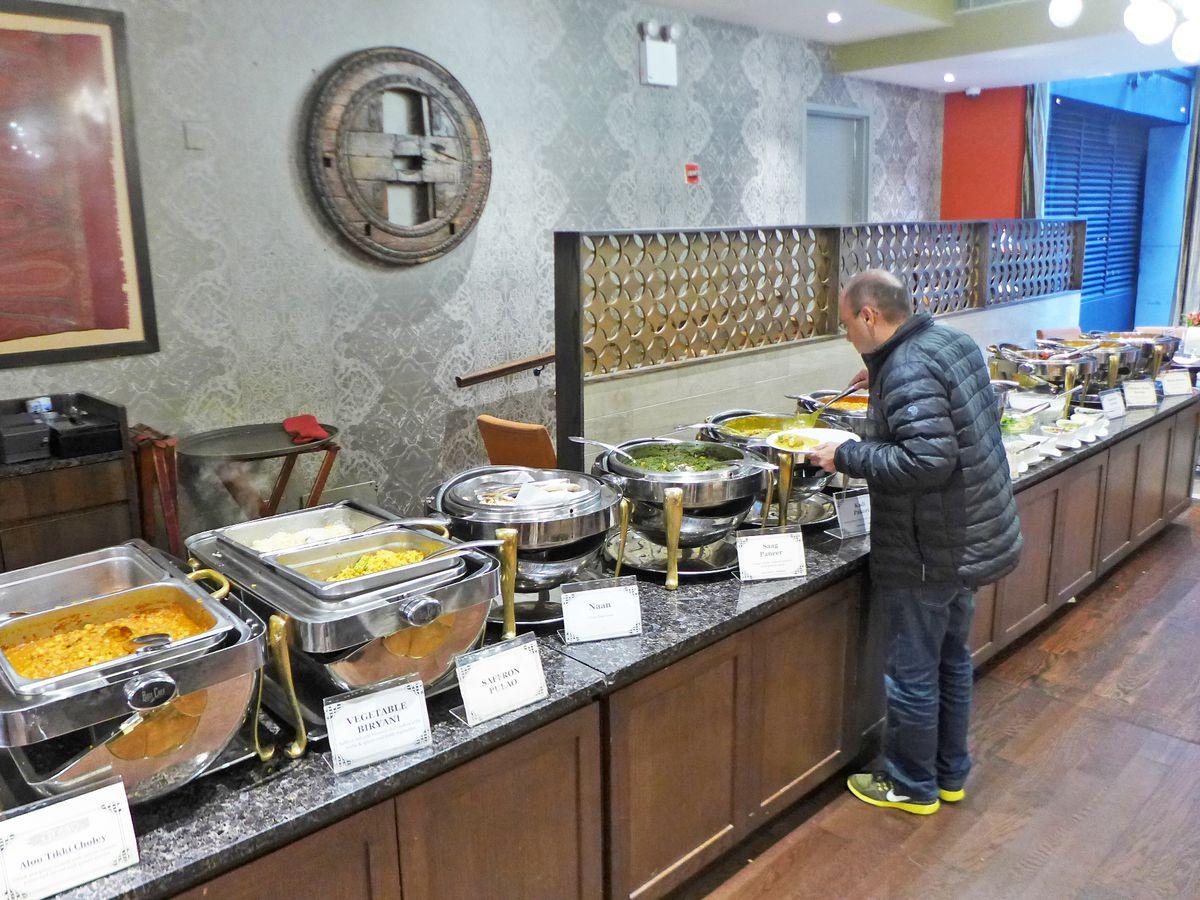 Buffet at Utsav