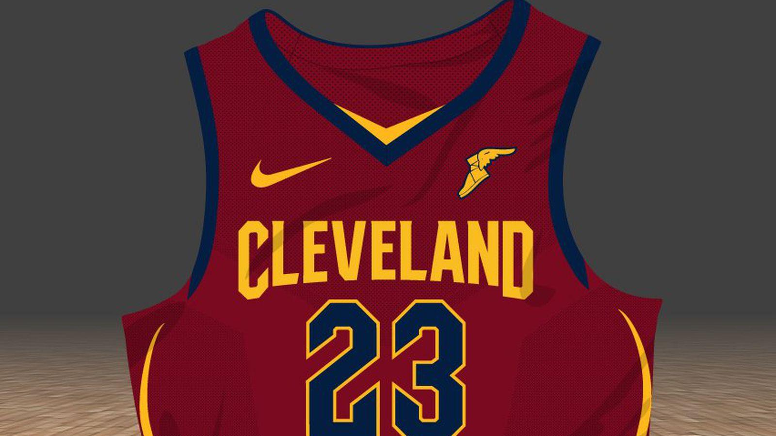 Cavs Uniforms 2018