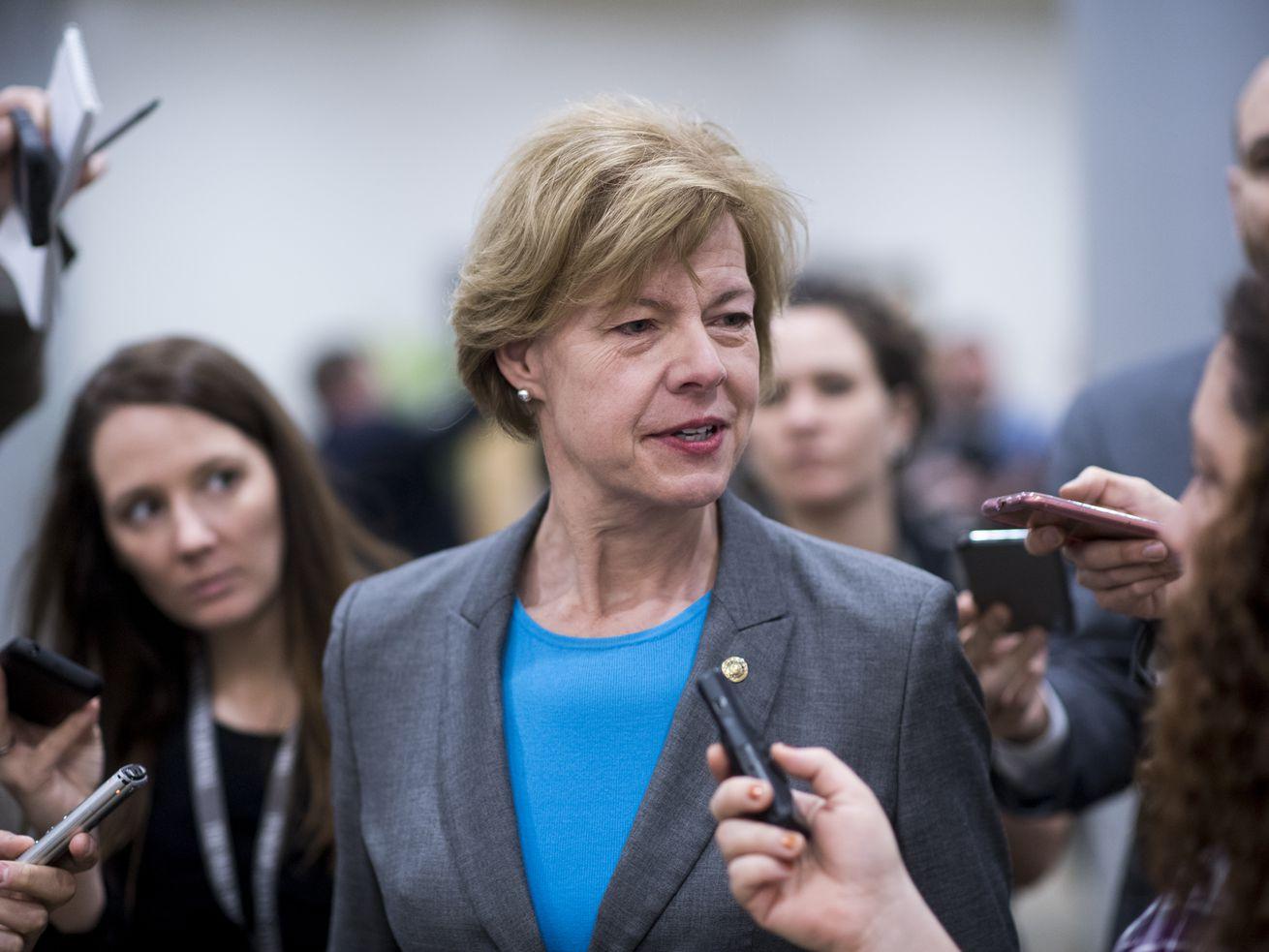 Sen. Tammy Baldwin (D-WI) wants to reverse Trump's expansion of short-term insurance plans.