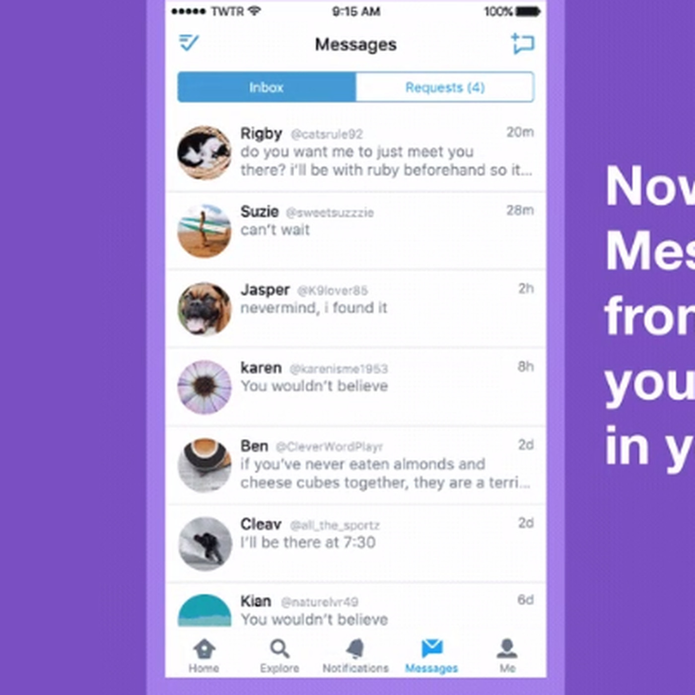 Twitter now filters DMs from people you don't know - The Verge