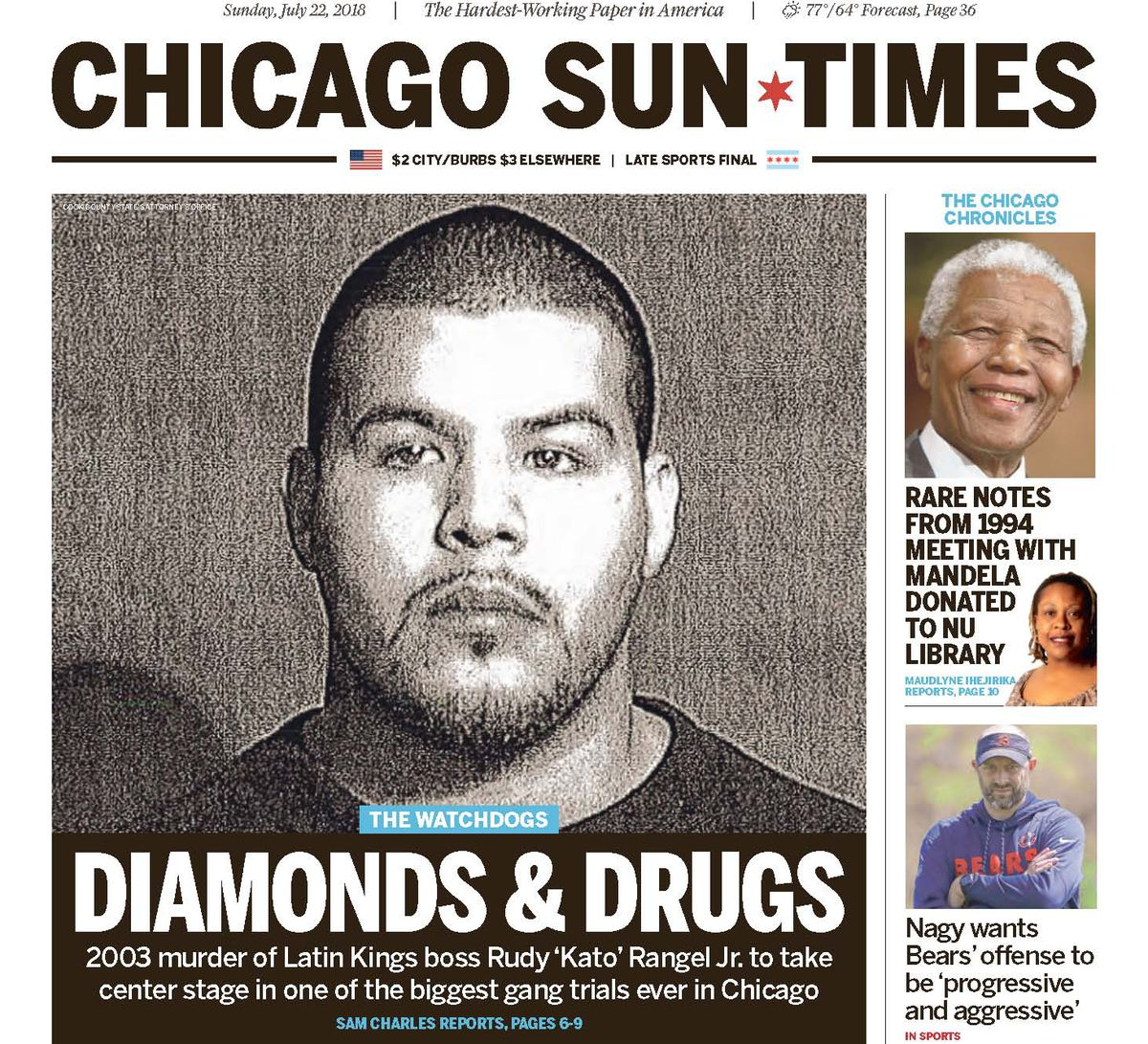 Click here to read the July 22, 2018, Sun-Times report 'Killing Kato.'