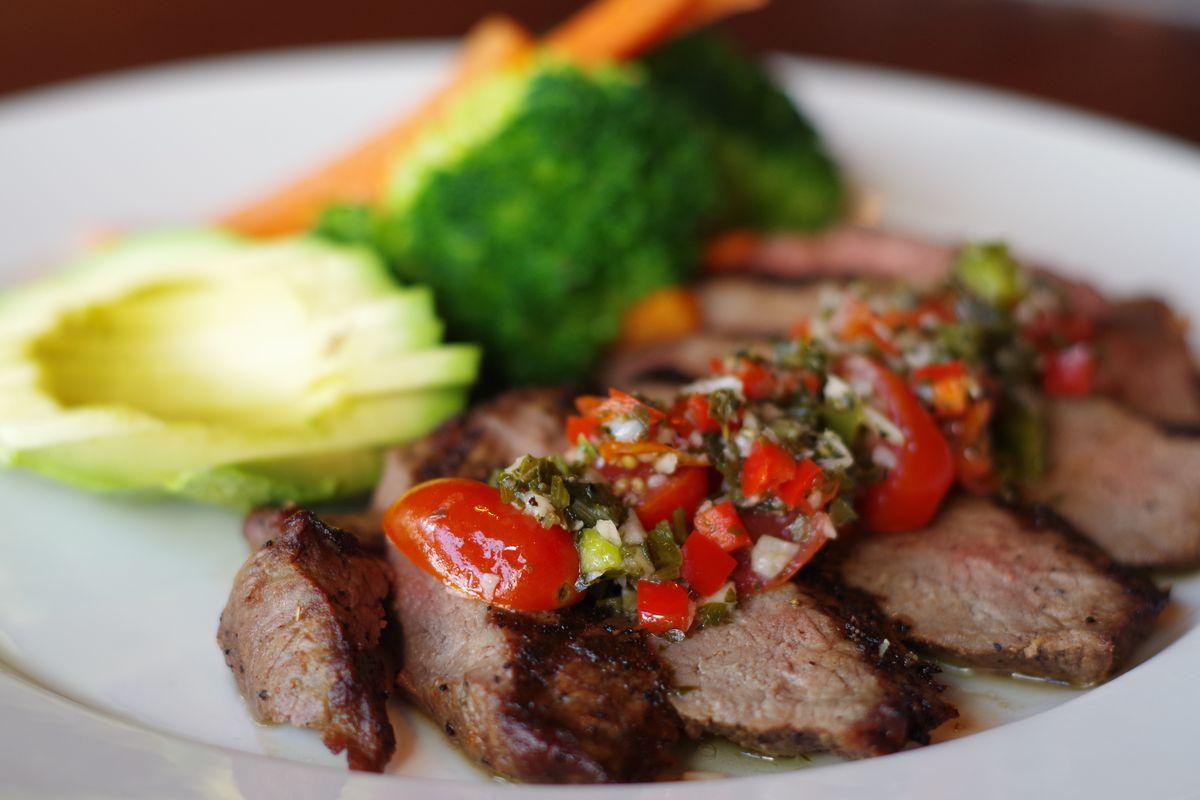A sirloin steak from Burton's Grill [Photo: Official]