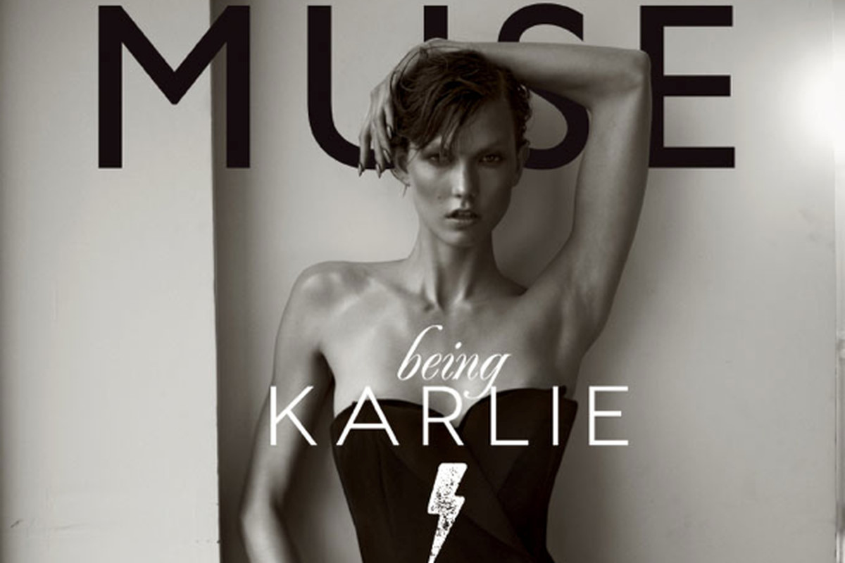 """Image via <a href=""""http://fashiongonerogue.com/see-karlie-kloss-in-action-for-muse-spring-2013-cover-shoot/"""">Fashion Gone Rogue</a>"""