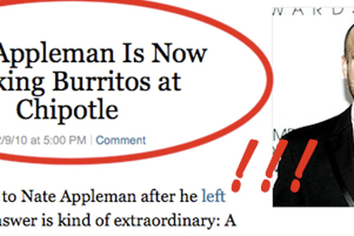 """""""You can find me in the store making burritos day after day — that's what I do."""""""